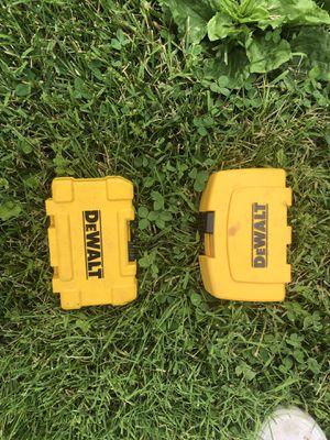 Dewalt drill bit sets for Sale in Lebanon, IN