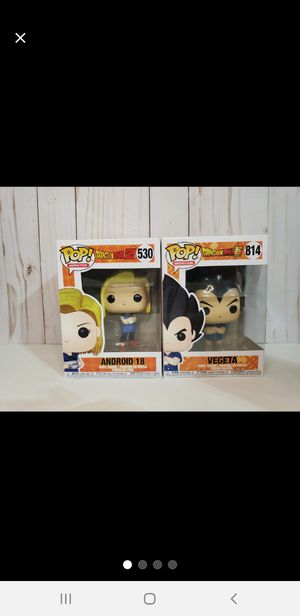 NEW Dragonball Funko Pop Set for Sale in Baytown, TX