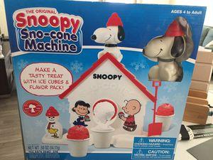 New snoopy sno cone maker for Sale in Dallas, TX