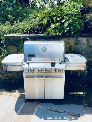 Weber Summit Stainless Steel BBQ Grill for Sale in Alexandria, VA