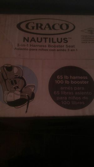 Car seat. Graco nautilius 3 in 1. Valery fashion for Sale in San Diego, CA