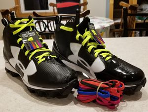Brand New Under Armour Size 9.5 Football Cleats for Sale in Appleton, WI