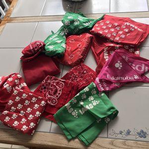 Doggie bandanas for Sale in North Potomac, MD