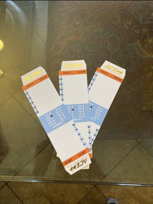 Ace train tickets $150 each 3 available Lathrop to Santa Clara 20 rides for Sale in Lathrop, CA