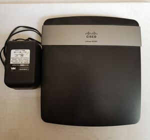 Linksys E2500 N600 WiFi Router for Sale in Thousand Palms, CA