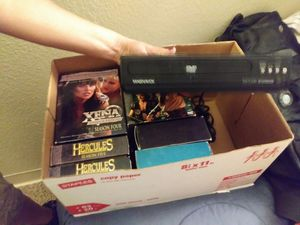 Dvd sets and dvs player with no cords for Sale in Denver, CO