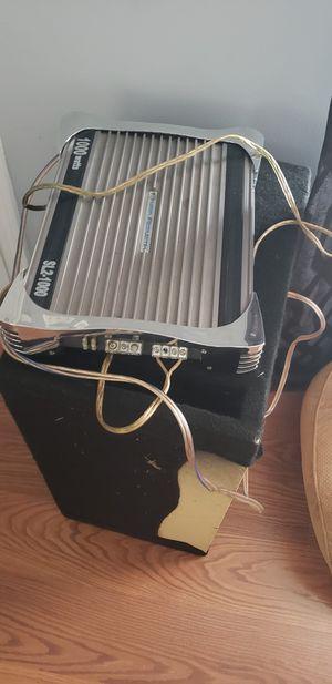 Planet Audio amp and kicker speaker for Sale in Nashville, TN