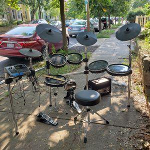 Alesis DM10 MKll Pro Drum Kit with Drummer Amplified Speaker for Sale in Washington, DC