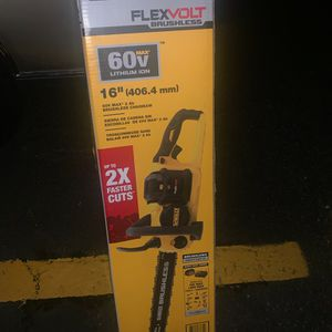 DeWalt 60vt Chainsaw(flexvolt) for Sale in Federal Way, WA