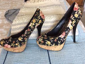 Henry Ferrara floral platform heel for Sale in Hoffman Estates, IL