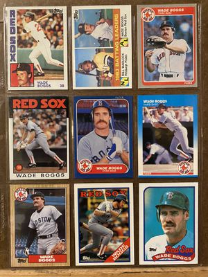 Baseball Card Pages $6 each! for Sale in Ijamsville, MD
