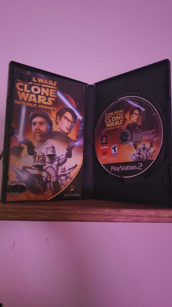 Star wars The Clone Wars [PS2]