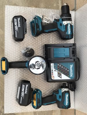 Today only..... Makita 18 volt brushless combo kit........$220...... brand new...... pickup only..... first come first serve..... for Sale in Rialto, CA