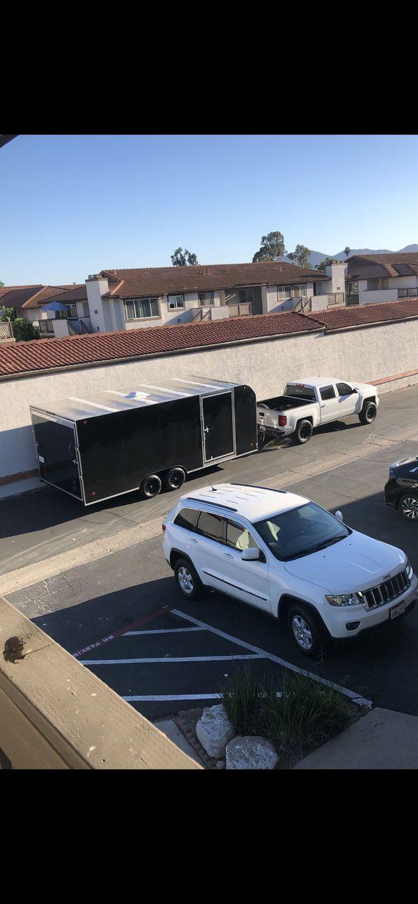 2021 20x8.5 enclosed trailer toy hauler