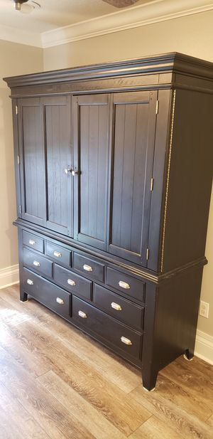 Solid wood storage cabinet for Sale in Clermont, FL