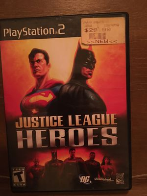 Sony PlayStation ps2 justice league heroes for Sale in Visalia, CA