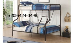 Bunk bed with mattress for Sale in Modesto, CA