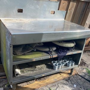 Stainless fish fillet kitchen counter for Sale in West Palm Beach, FL