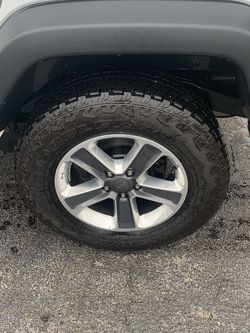 5 Wheels And Tires For A Jeep Wrangler Ultimate for Sale in Aurora,  IL