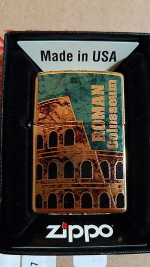 Zippo Roman Colosseum high polished brass 29497 for Sale in Los Angeles, CA