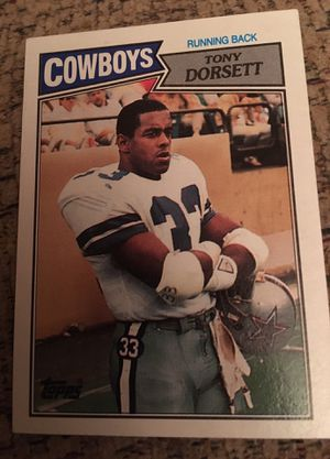 1987 tops Tony Dorsett number 263 for Sale in Oroville, CA