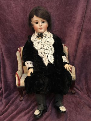 "HUGE 31"" ANTIQUE REPRODUCTION FRANCOIS GAULTIER DOLL RARE FRENCH BEBE for Sale in Lancaster, CA"