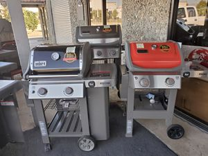 BBQ GRILL SALE WEBERS NEW ASSEMBLED for Sale in Redlands, CA