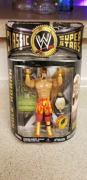 Hulk Hogan WWE series 11 super stars collectors action figure for Sale in Phoenix, AZ