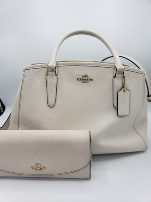 Coach crossbody/handbag and wallet for Sale in Plainfield, IL