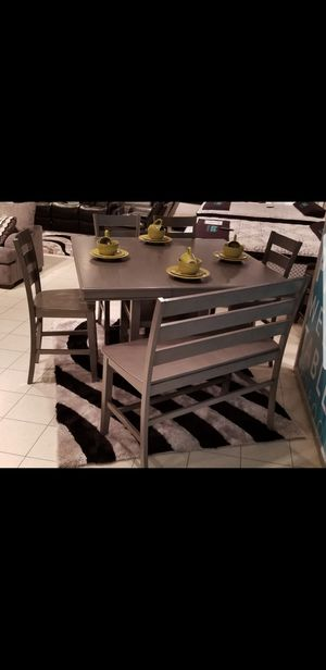 "NEW PUB HEIGHT DINING TABLE WITH 12"" REMOVABLE LEAF for Sale in Charleston, SC"