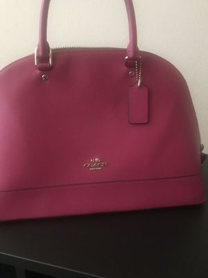 Pink Rose COACH handbag (Excellent condition) for Sale in Pearland, TX