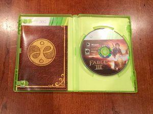 Fable III (3) Xbox 360 for Sale in Philadelphia, PA