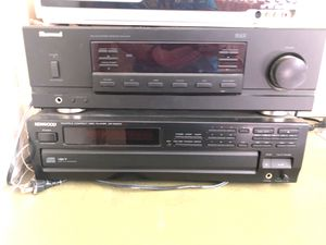 Sherwood received and kenwood 5 disc for Sale in Fort Thomas, KY
