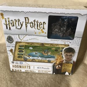 Harry Potter Hogwarts 4D Puzzle for Sale in Anchorage, AK