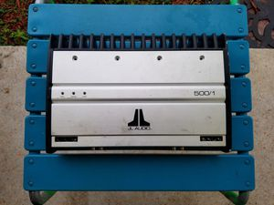 JL Audio 500/1 1-Channel Car Amp for Sale in Hollywood, FL