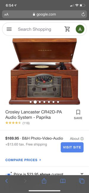 Crosley Record Player for Sale in Elmira, NY