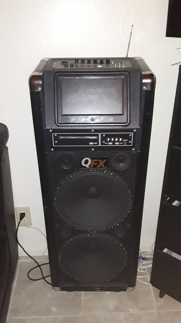 Qfz pro audio pa system