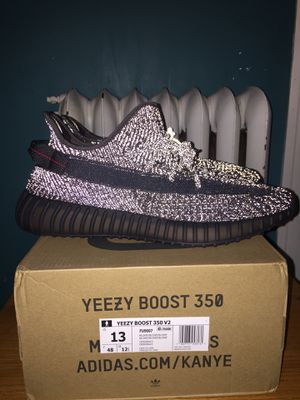 Adidas Yeezy Boost 350 V2 Black Reflective 3M Size 13 Brand New Jordan In Hand for Sale in River Forest, IL