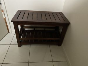 Wood bench for Sale in Westminster, CA