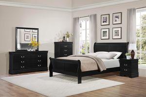 Queen Bedroom Set / Sistema de dormitorio for Sale in Atlanta, GA