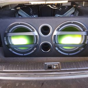 Fusion Subwoofer and Amplifier for Sale in Madison Heights, VA