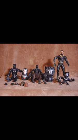 Various Black Panther Action Figure Toys for Sale in Houston, TX