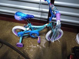 Little Girls 12 inch Frozen bike for Sale in Bloomingdale, IL