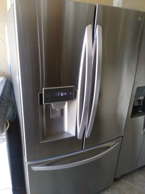 """LG stainless steel 3 door 35.5""""W 32""""D 69""""H for Sale in Durham, NC"""