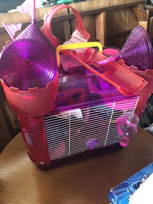Gerbil or Hamster cage with everything that you need! for Sale in Brentwood, CA