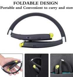Foldable Bluetooth Wireless Headset. Brand New. Make An Offer. for Sale in Las Vegas,  NV