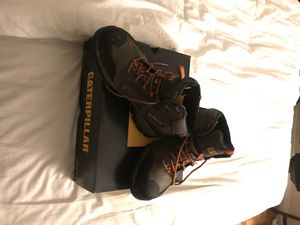Caterpillar steel toe boots for Sale in Los Angeles, CA