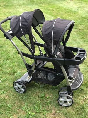 Graco ready to grow double stroller for Sale in Irving, TX