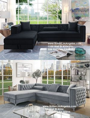 Glamorous luxurious sofa sectional couch with storage/No Credit Needed No Credit Check Apply Today for Sale in Downey, CA
