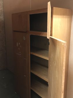 Pending Pick Up -Wood Storage /shelves 6'tall 4'wide for Sale in University Place,  WA